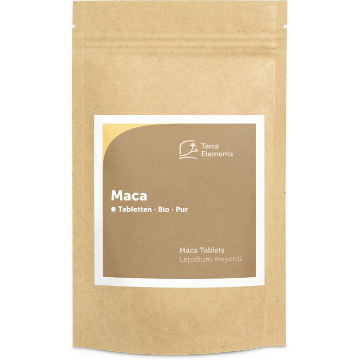 Bild 1 von Maca Tabletten 500 mg Bio 240 St terra elements